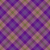 Tartan seamless generated texture Stock Images