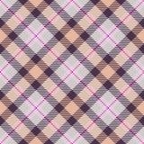 Tartan seamless generated texture Royalty Free Stock Image