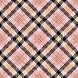 Tartan seamless generated texture Royalty Free Stock Photo
