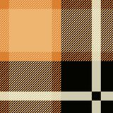 Tartan Seamless Pattern Background. Black and Beige Plaid, Tartan Flannel Shirt Patterns. Trendy Tiles Vector vector illustration