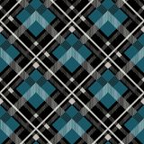 Tartan Seamless Pattern Background. Red, Black, Blue, Beige and White Plaid, Tartan Flannel Shirt Patterns. Trendy Tiles Vector Il. Lustration for Wallpapers royalty free illustration