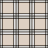 Tartan seamless pattern beige and white Stock Photography