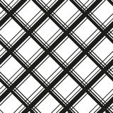 Tartan seamless pattern. Cage endless background. Square, rhombus repeating texture. Trendy backdrop for textiles Stock Image