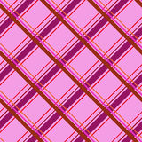 Tartan seamless pattern. Cage endless background. Square, rhombus repeating texture. Trendy backdrop for textiles Royalty Free Stock Photos