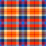 Tartan seamless pattern, checkered plaid  background Royalty Free Stock Photo