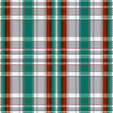 Tartan seamless texture in various colors Royalty Free Stock Images