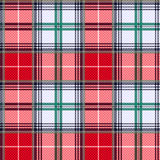 Tartan seamless texture in various hues Royalty Free Stock Images