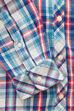 Tartan shirt Stock Photo