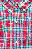 Tartan shirt Stock Photos