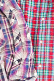 Tartan shirts Stock Photography