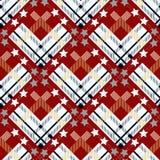 Tartan with star seamless. Tartan, plaid pattern vector background. Folk Retro. Tartan pattern. eps10. Tartan with star seamless. Tartan, plaid pattern vector stock illustration