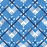 Tartan, szkocka krata bezszwowy wzór Textured szkocka krata Eps 10 ilustracji