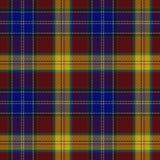 Tartan szkockiej kraty wzór Zdjęcia Stock