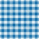 Tartan Table Mat Royalty Free Stock Photography