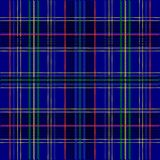 Tartan Texture. Illustration - Seamless Blue Tartan Fabric Texture / Vector Royalty Free Stock Photography