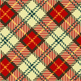 Tartan texture Royalty Free Stock Image