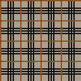 Tartan texture. In black and brown colors Royalty Free Stock Image