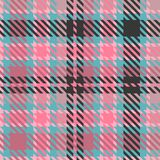 Tartan texture fabric. Seamless pattern Stock Images