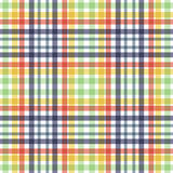 Tartan texture. Multicolor tartan fabric texture. Seamless pattern. Vector illustration Royalty Free Stock Photography