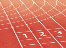 Tartan track Stock Photo