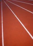 Tartan tracks Stock Images