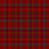 Tartan traditional checkered british fabric seamless pattern... Stock Photography