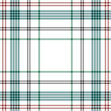 Tartan traditional checkered british fabric seamless pattern. Stock Photos