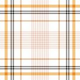 Tartan traditional checkered british fabric seamless pattern. Stock Photography
