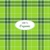 Tartan traditional checkered british fabric Stock Photography