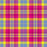 Tartan, vector pattern in plaid with a repeatable motif vector illustration