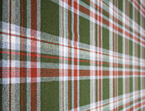 Tartan wool. Stock Photos