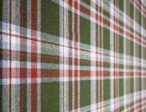 Tartan wool. Stock Photos