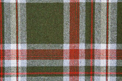 Tartan wool. Royalty Free Stock Images