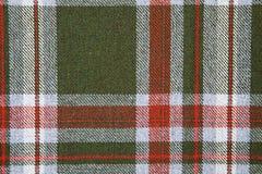 Tartan wool. Royalty Free Stock Images