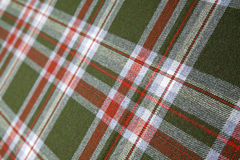 Tartan wool. Royalty Free Stock Photography