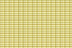 Tartan Yellow pattern - Plaid Clothing Table Royalty Free Stock Image