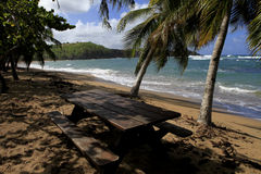 Tartane beach, Martinique, la caravelle Royalty Free Stock Photography