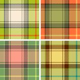 Tartanplaid Stockbilder