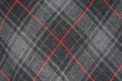 Tartanu sukienny szczegół Obraz Stock