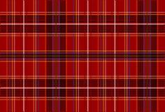 Tartar Fabric Texture. Background / Texture - Illustration of Red Tartan Fabric / Vector royalty free illustration