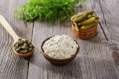 Tartar sauce Royalty Free Stock Images