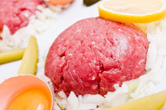 Tartar steak Royalty Free Stock Photography