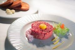 Tartar steak Royalty Free Stock Photography
