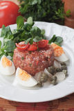 Tartar steak Stock Photos