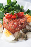 Tartar steak Stock Images
