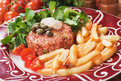 Tartar steak Stock Photography