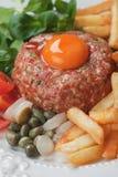 Tartar steak Stock Photography