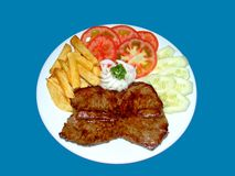 Tartare di bistecca Fotografie Stock Libere da Diritti