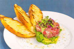 Tartare Di Tonno Royalty Free Stock Photography