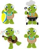 Tartaruga ad un luau Fotografia Stock